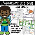 """Le son """"eu-oeu"""" - jeux et activités"""