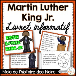 Martin Luther King Jr. - Livret de lecture