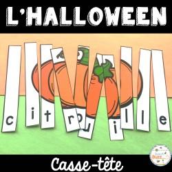 L'Halloween - Casse-tête