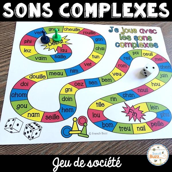 Les sons complexes - jeux de société