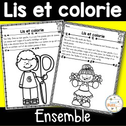 Lis et colorie - Ensemble