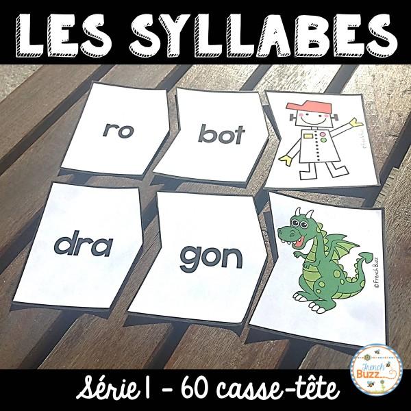 Les syllabes - 60 casse-tête