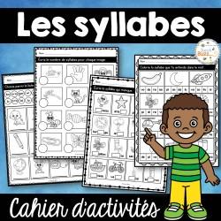 Les syllabes - Cahier d'activités