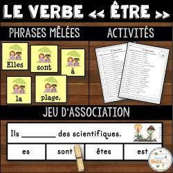 """Le verbe """"être"""" - Ensemble"""