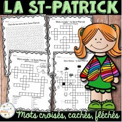 La Saint-Patrick - mots croisés