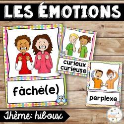 Les émotions - Affiches - Hiboux