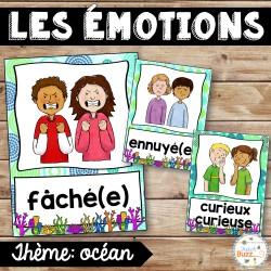 Les émotions - Affiches - Océan