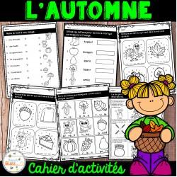 L'automne - Cahier d'activités de l'élève