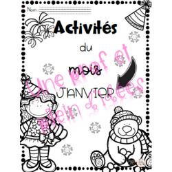 Activités du mois de janvier - 2e année
