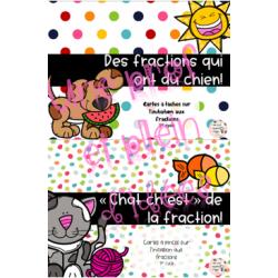 Ensemble sur les fractions - 1er cycle