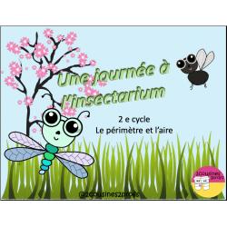 Une journée à l'insectarium -Périmètre et aire)