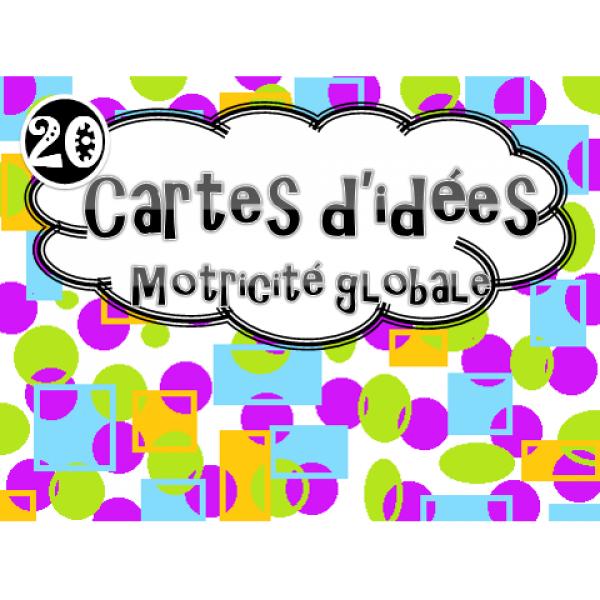 Cartes d'idées : Motricité globale