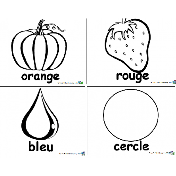 Affiches formes et couleurs