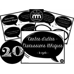Cartes d'idées : Discussions éthiques (1e cycle)