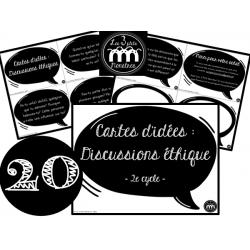 Cartes d'idées : Discussions éthiques (2e cycle)