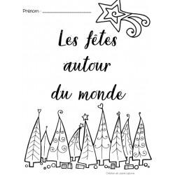 Noël autour du monde - Cahier