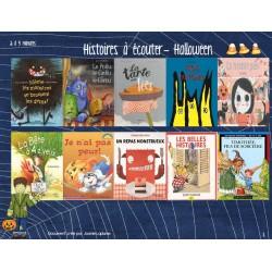 Histoires à écouter - Halloween