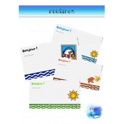Présentations routines/consignes (Support visuel)