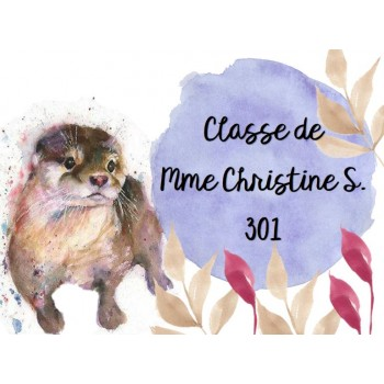 Classe de Mme Christine S