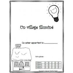 Village illuminé-électricité