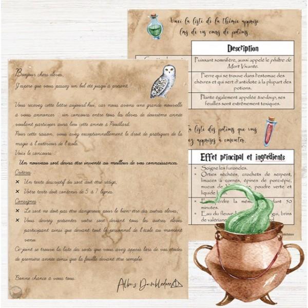 Situation d'écriture - Harry Potter