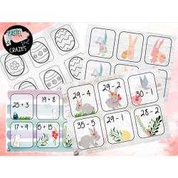 Jeux de mémoire divers - Pâques