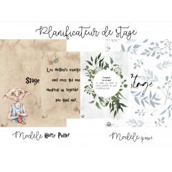 Planificateurs de stage - Modèle HP & Épuré