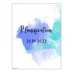 Planificateur 2021-2022 - Pastel