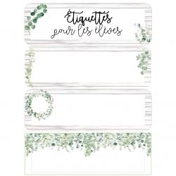 Étiquettes de noms - Eucalyptus