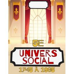Univers social 5e année