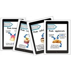 Recettes pour les 4 dimensions de la lecture