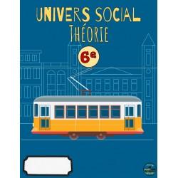 Univers social 6e: Théorie
