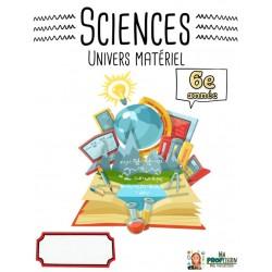 Cahier de sciences: Univers vivant 6e