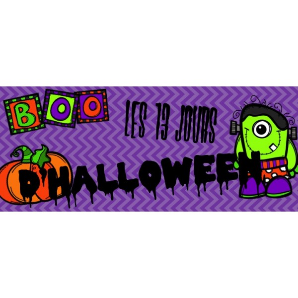 Les 13 jours d'Halloween - Ma fête d'Halloween