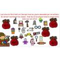 Calendrier de l'Avent - La fabrique de jouets