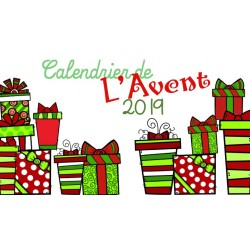 Calendrier de l'Avent - Vocabulaire hivernal