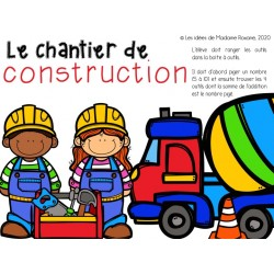 Le chantier de construction