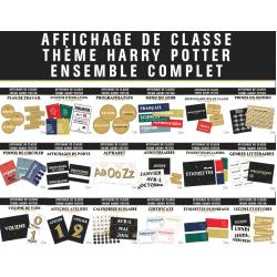 Ensemble Complet - Thème Harry Potter