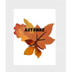 Affiche automne