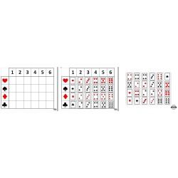 Tableau à double-entrée cartes