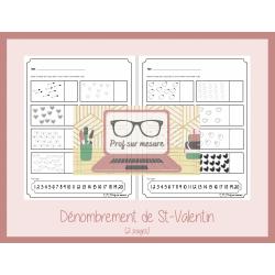 Dénombrement de St-Valentin