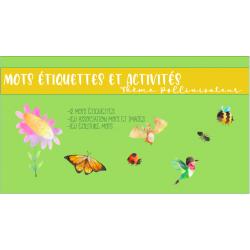 Mots étiquette et activités pollinisateur