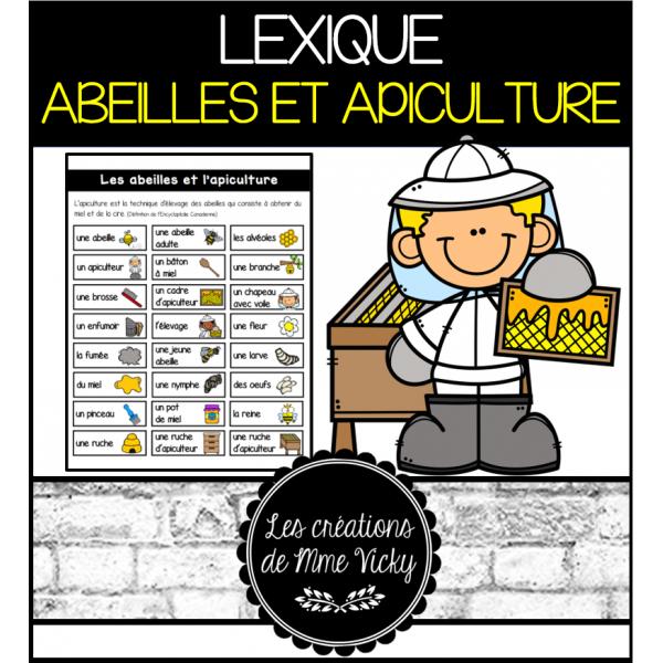 Lexique - Les abeilles et l'apiculture