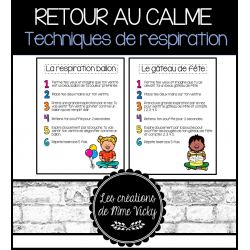 Retour au calme - Respirations