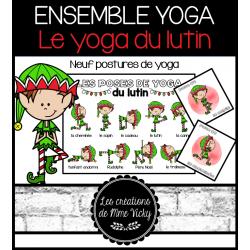 Le yoga du lutin - Cartes et affiche