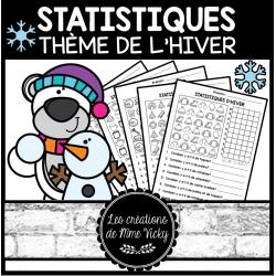 5 activités de Statistiques - Hiver