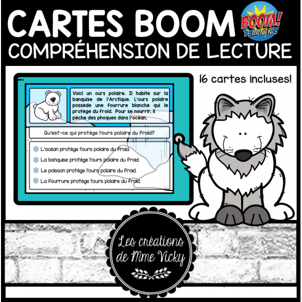 Cartes BOOM - CdeL - Animaux polaires