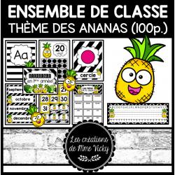 Ensemble de classe - Ananas