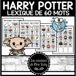 Lexique - Harry Potter - 60 mots