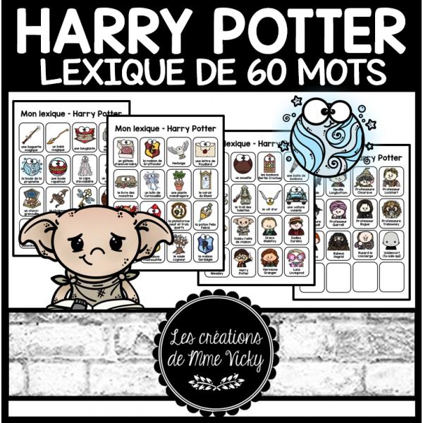 Lexique - Harry Potter - 60 mots